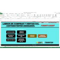 Libros De Compras Y Ventas Iva,formato Seniat,