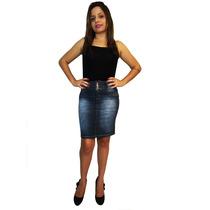 Saia Jeans Secretaria Bx - Mix Jeans