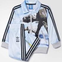 Conjunto Infantil Adidas Star Wars Original