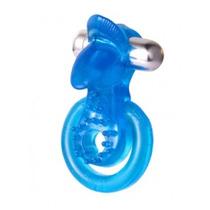 Anillo Vibrador Doble Con Lengua Estimulador 7 Func Amanti