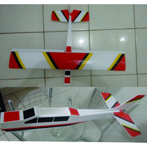 Kit De Cessna 182, Aeromodelo Elétrico Mais Barato Do Ml !!!