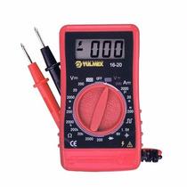 Multimetro Digital Bolsillo 400 V 16-20 Tulmex