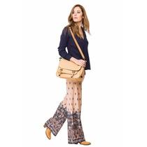 Pantalon Palazzo Hippie Chic Marca Try Me +pulsera Rapsodia