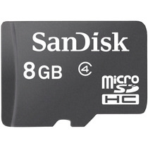 Cartão De Memória Micro Sd 8 Gb