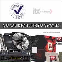 Kit Processador Amd Fx 6300 Geforce Gtx 750ti 1gb + 8gb Ddr3