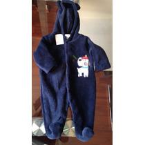 Hermoso Mameluco Marca Campanita Para Bebé Azul Marino