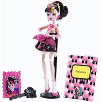 Boneca Draculaura Monster High Aula De Artes - Mattel