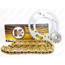 Kit Relação Transmissão Gold C Retentor Yamaha Xt 600e 94-04