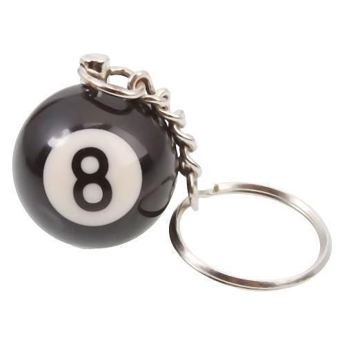 b65aa894089a7 Bola 8 - Sinuca   Snooker - Chaveiro! - R  14