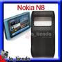 Forro Nokia N8 Negro Acrilico Funda Protector Malla Case 12m