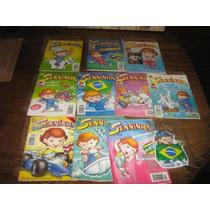 Seninha E Sua Turma Lote C/10 Edições Ano:1994 Ed.abril