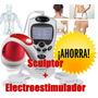 Combo Reductor Modelador Sculptor + Electroestimulador Usb