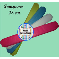 Pompones De Papel De Seda De 25 Cm. Super Oferta!