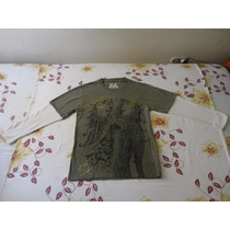 Franela Camisa Sueter Manga Larga Talla S