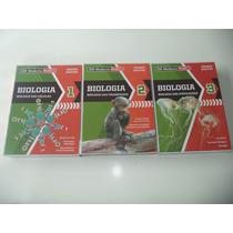Coleção De Biologia Moderna Plus Amabis/martho Com Gabaritos