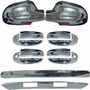 Aveo Sedan Kit Cromado Retrovisores - Manillas - Platina