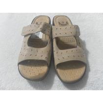 Zapatos Sandalias Importadas De Cuero Talla 36