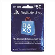 Código Playstation Card 50 Usa Vía Email - Para Ps3 Ps4 Vita