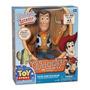 Toy Story - Xerife Woody Roundup - 40 Cm Fala Portugues
