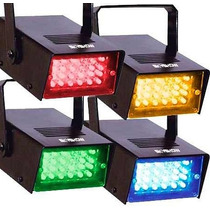 Kit 4 Strobos Led Coloridos Pisca Sequencial Skyshow Festa