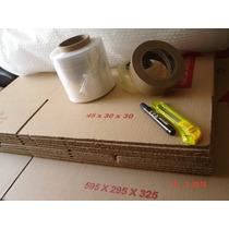 Cajas De Cartón Corrugado Mudanza (paquete)