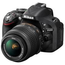 Cámara Nikon D5200 Kit 18-55mm 24.1 Mp Formato Dx