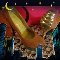 Zapatillas De Gamusa Hermosas Importadas U.s N4 Mexicano Vbf