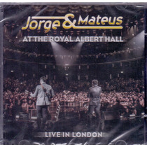 Cd Jorge & Mateus - Live In London - Novo***