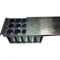 Forma Para Picolé Com Centralizador Em Alumínio-15 Sorvetes