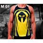 Camisetas Regatas Treino Musculação 100% Poliéster