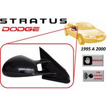 95-00 Dodge Stratus Espejo Lateral Manual Lado Derecho