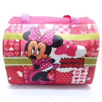 Bolso Cartera Baul Tipo Furla Minnie Mouse Disney Regalo
