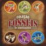 6 Dinossauros Em Mdf - Quebra Cabeça 3d Frete Grátis