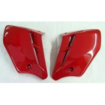 Aba Tanque Cbx 250 Twister Vermelho 2008 S/ Adesivo Par