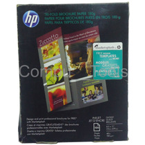Papel Para Trípticos Hp Brillante 8.5 X11 180g/m C7020a 100h