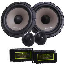 Kit 2 Vias Audiophonic Ks 6.2 - 130w Rms (par) 6 Polegadas