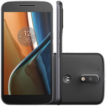 Smartphone Motorola Moto G4 Preto -13mp+ 5mp, 16gb