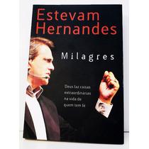 Livro Milagres - Estevam Hernandes