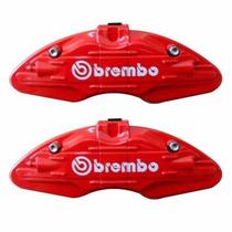 Capa Para Pastilha Pinça De Freio - Par / Vermelha / Brembo