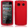 Funda Silicona Nokia 500 Fate Protector Goma Roja