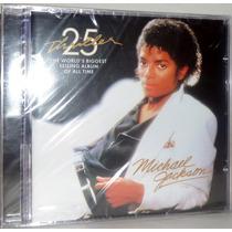 Cd Michael Jackson - Thriller ( Edição 25º Aniversário )