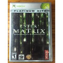 Enter The Matrix Platinum Hits Xbox Classic Atari