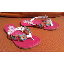 Hermosas Sandalias Flip Flops Cklass Kids No. 18 ¡ Nuevas !