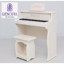 Piano Infantil Renopia + Banco + Atril Para Partitura