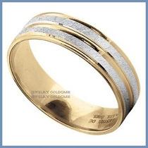Argollas De Matrimonio Mod. Kyoto En Oro Amarillo 10k Solido