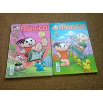 Mônica Edições 01 E 02 - Editora Panini