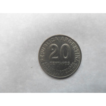 13 Monedas Argentinas De 20 Centavos 1950 Año Libertador