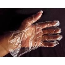 Luvas Plásticas Descartáveis Multi-uso 100 Un C Frete Grátis