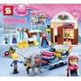 Lego Treno Casa Ana Princesas Elza + Avião Batman