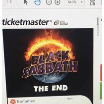 Boleto Black Sabbath